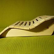 Для дома и интерьера ручной работы. Ярмарка Мастеров - ручная работа Подголовник для бани и сауны. Handmade.