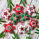 Stars from felt. gift 2020. Christmas decorations. made with love. Online shopping on My Livemaster.  Фото №2