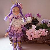 """Куклы и игрушки ручной работы. Ярмарка Мастеров - ручная работа Бабочка в стиле """"Девочки бывают разными"""". Handmade."""