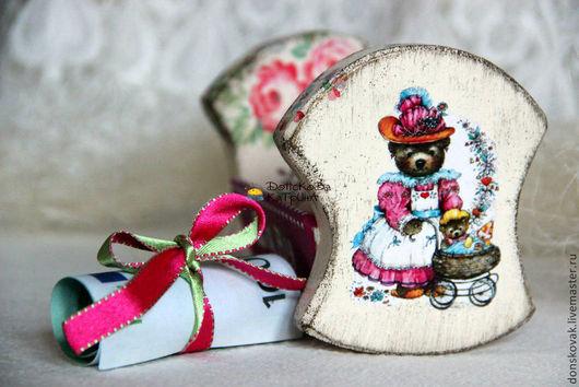 Подарки для новорожденных, ручной работы. Ярмарка Мастеров - ручная работа. Купить Колыбелька на рождение девочки для подарочка/денежки. Handmade. Розовый, для украшений
