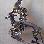 Куклы и игрушки ручной работы. Ярмарка Мастеров - ручная работа Фигурка дракона на заказ. Handmade.