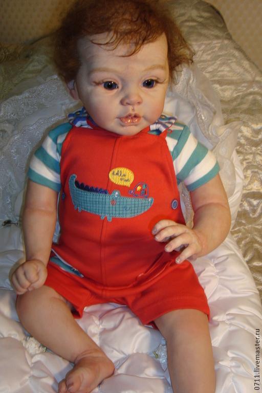 Куклы-младенцы и reborn ручной работы. Ярмарка Мастеров - ручная работа. Купить Малышка Грейсен. Handmade. Бежевый, тело мягконабивное