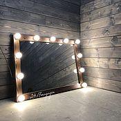Для дома и интерьера handmade. Livemaster - original item Make-up mirror ESPRESSO. Handmade.