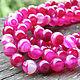 Для украшений ручной работы. Ярмарка Мастеров - ручная работа. Купить Бусины розовый агат гладкий шар 8мм Б41. Handmade.