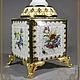 Часы с подсвечниками-`Золотые нити`,  для дома ручной работы.Антонова Ирина.Ярмарка Мастеров.