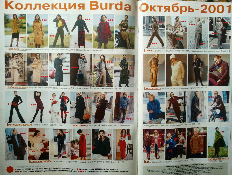 Бурда моден журнал с выкройками смотреть