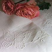 Винтаж handmade. Livemaster - original item Vintage tea tablecloth