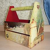 Для дома и интерьера ручной работы. Ярмарка Мастеров - ручная работа Ящик для мелочей. Handmade.