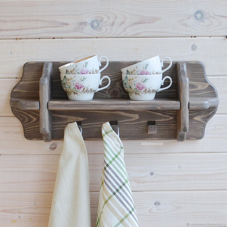 Полка для кухни для посуды Пастораль-мини, Полки, Псков,  Фото №1