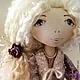Коллекционные куклы ручной работы. Ярмарка Мастеров - ручная работа. Купить текстильная кукла Адель. Handmade. Коллекционная кукла, подарок