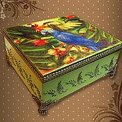Для дома и интерьера handmade. Livemaster - original item Box coils