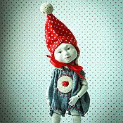 Куклы и игрушки ручной работы. Ярмарка Мастеров - ручная работа Маленький гном Вася.. Handmade.