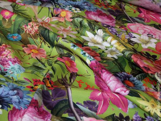 Шитье ручной работы. Ярмарка Мастеров - ручная работа. Купить D&G ткань костюмно-плательная оттоман отрез, Италия. Handmade.