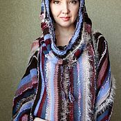 Одежда handmade. Livemaster - original item Tunic dress with high collar,