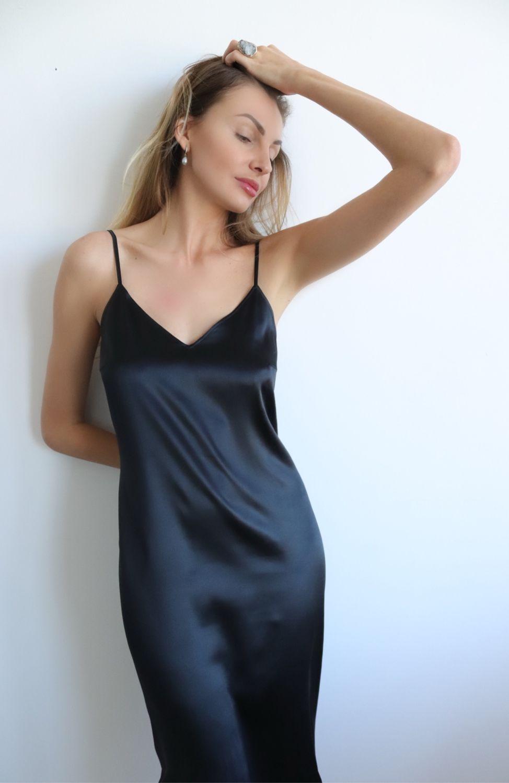 Платье Комбинация На Вечер