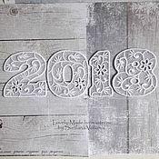 Подарки к праздникам handmade. Livemaster - original item The numbers