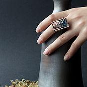 """Украшения ручной работы. Ярмарка Мастеров - ручная работа Серебряное кольцо  """"Pyramid"""". Handmade."""