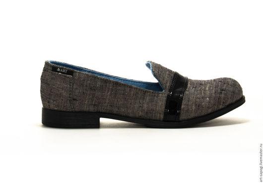 Обувь ручной работы. Ярмарка Мастеров - ручная работа. Купить лоферы 9-305-03 (вч). Handmade. женская обувь