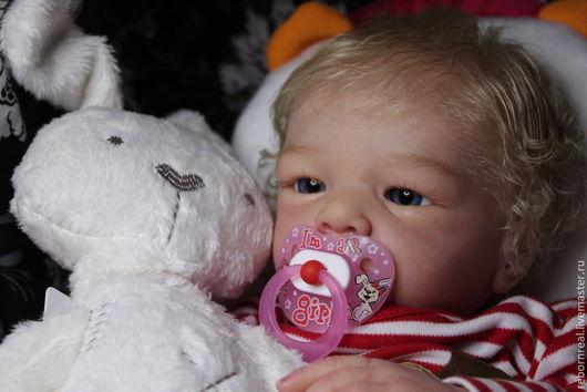 Куклы-младенцы и reborn ручной работы. Ярмарка Мастеров - ручная работа. Купить Ника 6. Handmade. Реборн, куклы дети