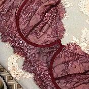 Одежда ручной работы. Ярмарка Мастеров - ручная работа Молодое бордо. Handmade.