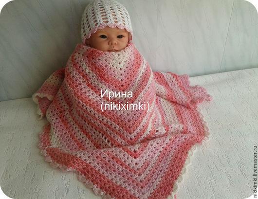 Пледы и одеяла ручной работы. Ярмарка Мастеров - ручная работа. Купить Плед тёплый(цена снижена ). Handmade. Детский плед