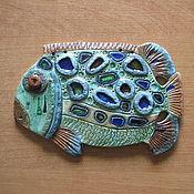 Для дома и интерьера ручной работы. Ярмарка Мастеров - ручная работа Рыба-гигант№1. Handmade.