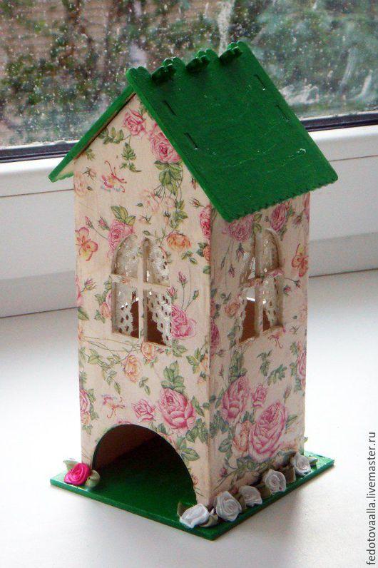 Кухня ручной работы. Ярмарка Мастеров - ручная работа. Купить Чайные домики 2. Handmade. Ярко-зелёный, чайный дом