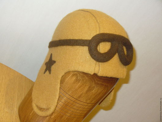 """Банные принадлежности ручной работы. Ярмарка Мастеров - ручная работа. Купить Шапка для бани и сауны """"Для отважного летчика"""". Handmade."""