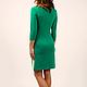Платья ручной работы. Заказать Платье. San Sarafan. Ярмарка Мастеров. Зеленый цвет, зеленое платье, платье на каждый день