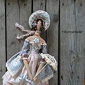 Куклы и игрушки ручной работы. Ярмарка Мастеров - ручная работа кукла тильда ручной работы БАРЫШНЯ В ПАСТЕЛЬНЫХ ТОНАХ 2. Handmade.