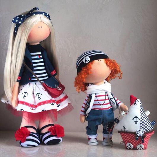 Коллекционные куклы ручной работы. Ярмарка Мастеров - ручная работа. Купить Вспоминая море.. Handmade. Кукла ручной работы