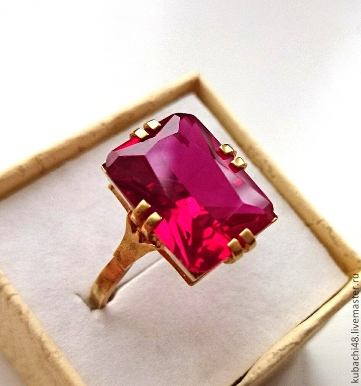 ПОСЛЕДНЕЕ! Серебряное кольцо 925 пробы Королевский рубин – купить на Ярмарке Мастеров – 5L4K5RU   Кольца, Кубачи