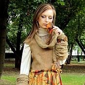 """Одежда ручной работы. Ярмарка Мастеров - ручная работа Платье """" Золотая осень"""". Handmade."""