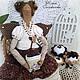кофейная фея, кофе, кофейный ангел, кофейная фея тильда, кукла тильда, тильда кукла, тильда кукла кофейная, 8 марта, подарок на 8 марта, Юлия Голованова, ярмарка мастеров