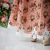 """Одежда ручной работы. Ярмарка Мастеров - ручная работа Платье """"На лугу"""". Handmade."""
