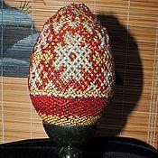 Сувениры и подарки handmade. Livemaster - original item Easter egg on stand No. №1. large. Handmade.