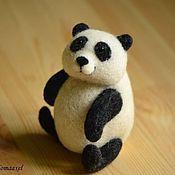 Куклы и игрушки handmade. Livemaster - original item Felt Panda toy. Handmade.