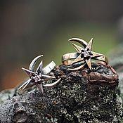 Украшения handmade. Livemaster - original item Ring Moon and star. Skyrim.  The Elder Scrolls. bronze silver.. Handmade.