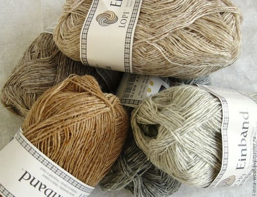 Вязание ручной работы. Ярмарка Мастеров - ручная работа. Купить Пряжа Ажурная Лопи Einband чистая натуральная шерсть. Handmade.