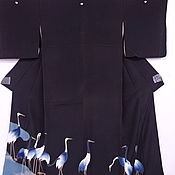 Винтаж handmade. Livemaster - original item Vintage clothing: Kimono of Japanese silk,