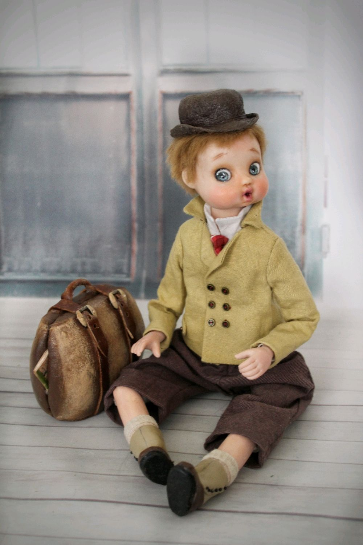 Кукла гуглик Семка путешественник, Куклы и пупсы, Одинцово,  Фото №1