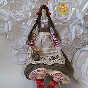 """Куклы и игрушки ручной работы. Ярмарка Мастеров - ручная работа Текстильная кукла в стиле """"Тильда""""  Анни. Handmade."""