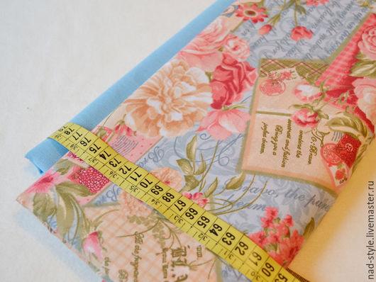 """Шитье ручной работы. Ярмарка Мастеров - ручная работа. Купить Ткань хлопок """"Винтажные розы"""" 220см. Handmade. Комбинированный"""