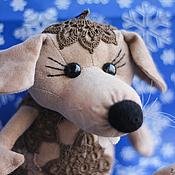 Куклы и игрушки ручной работы. Ярмарка Мастеров - ручная работа Крыска Лариска (16 см - сидя). Handmade.