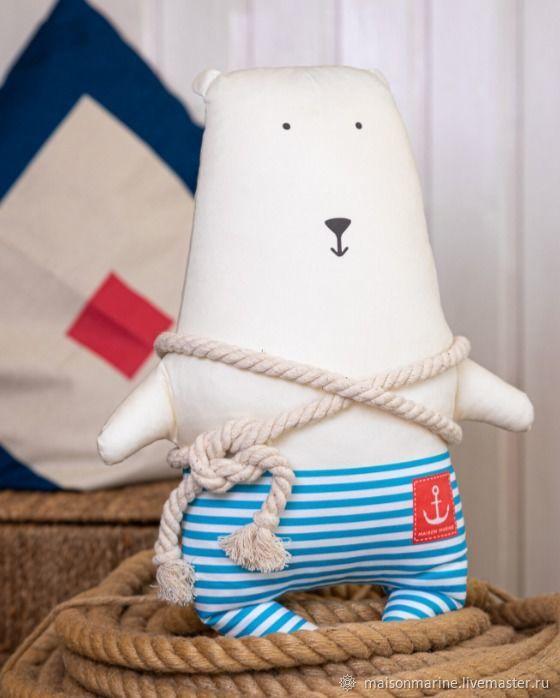 Bear Captain Arctic 42cm, Stuffed Toys, Moscow,  Фото №1