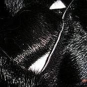 Материалы для творчества ручной работы. Ярмарка Мастеров - ручная работа куски натурального меха(морской зверь хохлаченок). Handmade.