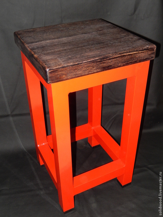 Мебель ручной работы. Ярмарка Мастеров - ручная работа. Купить Табурет. Handmade. Табурет, массив дерева, массив дуба