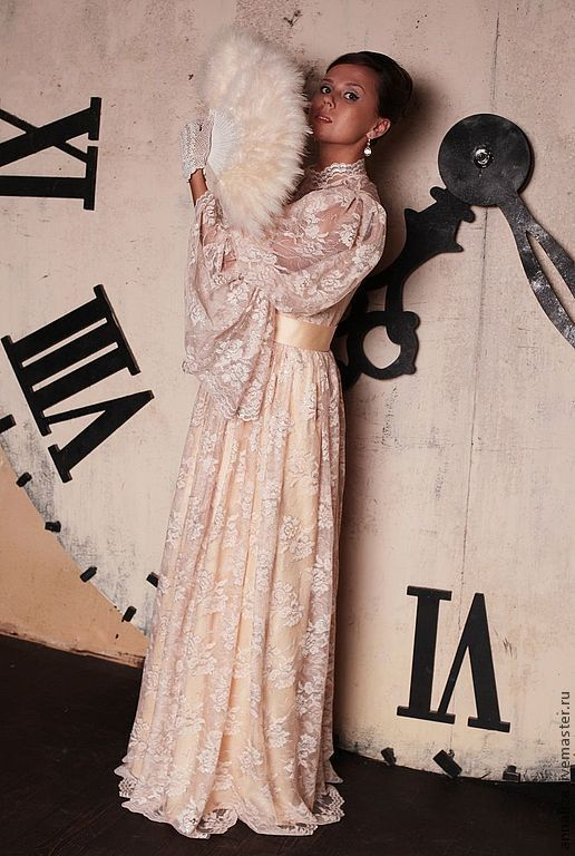 """Платья ручной работы. Ярмарка Мастеров - ручная работа. Купить Викторианское платье """"Принцесса 19 века"""" персик (новое прочтение. Handmade."""