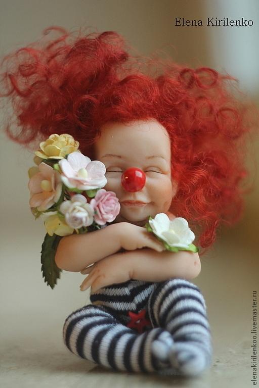 Куклы-младенцы и reborn ручной работы. Ярмарка Мастеров - ручная работа. Купить Flora. Handmade. Ярко-красный, Кукла-младенец