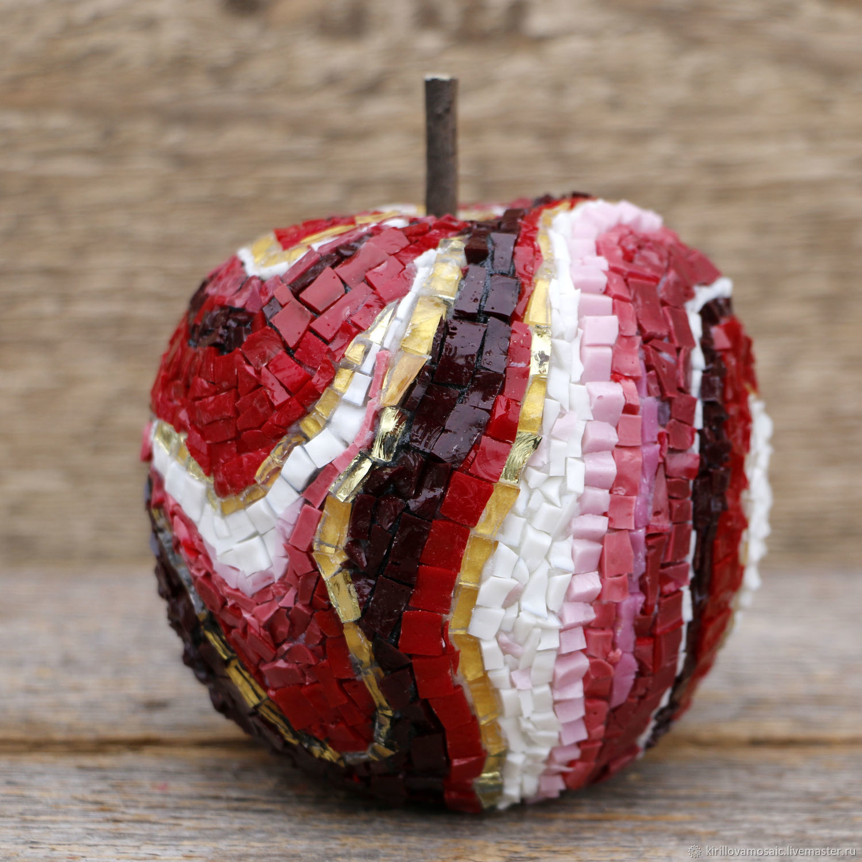 Яблоко из смальты, Скульптуры, Москва,  Фото №1